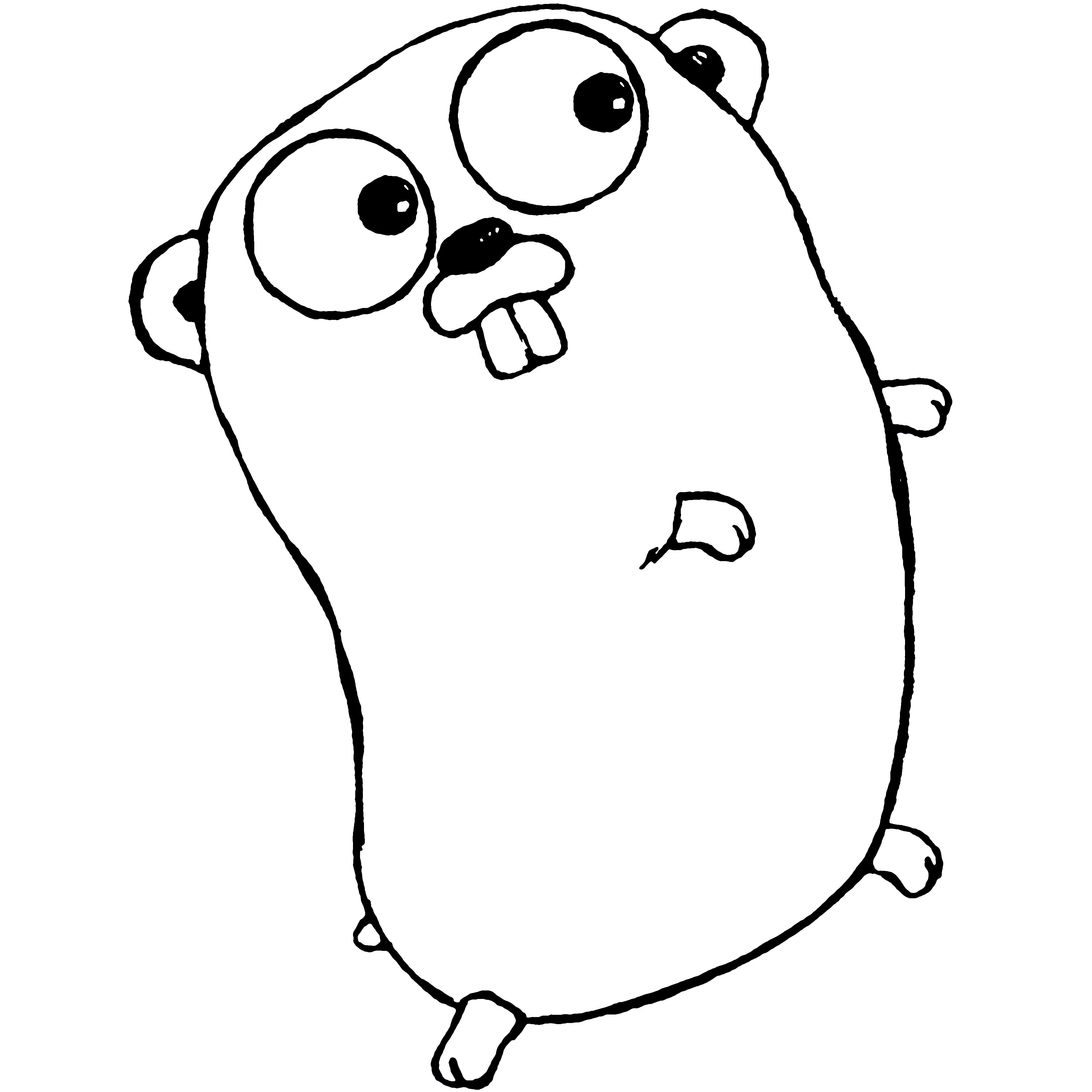 GO言語イメージキャラクタ