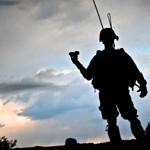 夜明けの兵士