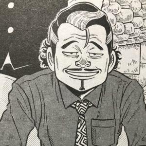 雷紋亭店長・火骨武郎(かぼね たけろう)。鉄鳴きの麒麟児より